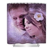 Stellar Couple Shower Curtain