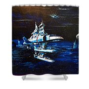Stellar Cruiser Shower Curtain