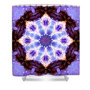 Stellar Spiral Eagle Nebula II Shower Curtain