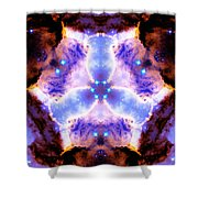 Stellar Spiral Eagle Nebula Vi Shower Curtain