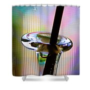 Stem And Vase Shower Curtain
