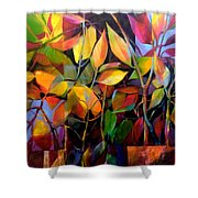 Stems And Leaves No. 76 Shower Curtain