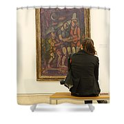 Stendhal Syndrome Shower Curtain