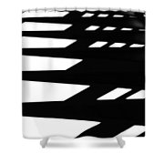 Step By Step Shower Curtain by Newel Hunter