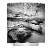 Step Stone Revisited Shower Curtain