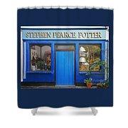Stephen Pearce Pottery Shanagarry Ireland Shower Curtain