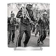 Steppin' Out Monochrome Shower Curtain