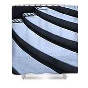 Steps Shower Curtain