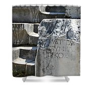 Steps Of The Council House Aphrodisias Shower Curtain