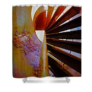 Steps To Shine  Shower Curtain