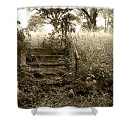 Steps To Yesterday Shower Curtain