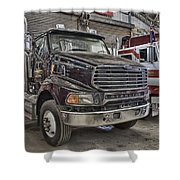 Sterling Truck Shower Curtain