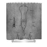 Stethoscope Shower Curtain