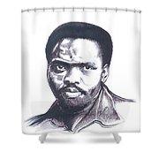 Steve Biko 02 Shower Curtain
