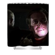 Steve Buscemi As Carl Showalter In The Film Fargo By Joel And Ethan Coen Shower Curtain