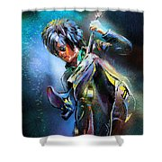 Steve Stevens Shower Curtain