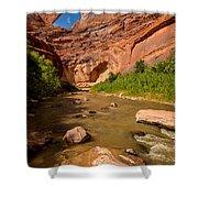 Stevens Arch - Escalante River - Utah Shower Curtain