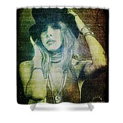 Stevie Nicks - Bohemian Shower Curtain
