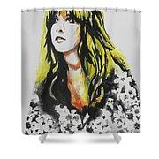 Stevie Nicks 02 Shower Curtain