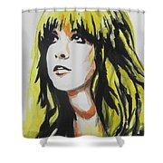 Stevie Nicks 01 Shower Curtain