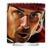 Stevie Y Shower Curtain