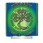 Stewart Ireland To America Shower Curtain