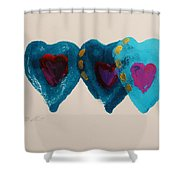 Stiched Together Shower Curtain
