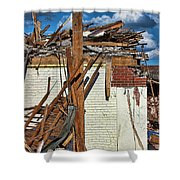 Sticks And Stones Shower Curtain
