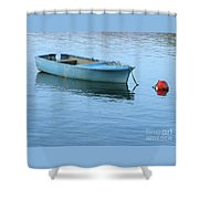 Still Afloat Shower Curtain