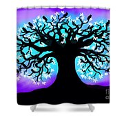Still Counting Crows Shower Curtain