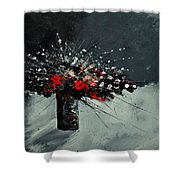 Still Life 5551 Shower Curtain