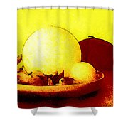 Still Life As We Know It Shower Curtain