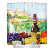Still Life From Tivoli Shower Curtain