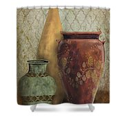 Still Life-g Shower Curtain by Jean Plout