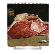 Still Life The Joint Of Meat Shower Curtain