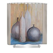 Still Life With Bottles Shower Curtain