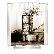 Still Supporting Life Shower Curtain