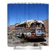 Still Waiting For Roadside Assistance Shower Curtain