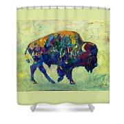 Still Wild Shower Curtain by Kate Dardine