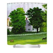 Stillpoint Farm Shower Curtain