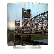Stillwater Lift Bridge Shower Curtain