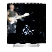 Sting Of The Police On Video Shower Curtain