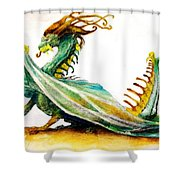 Stinger By Tom Kidd Shower Curtain