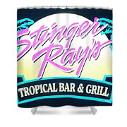 Stinger Ray's Shower Curtain
