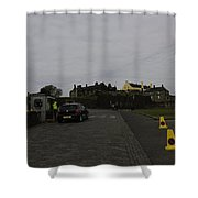 Stirling Castle And The Parking Area For The Castle Shower Curtain