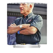Stirling Moss Shower Curtain