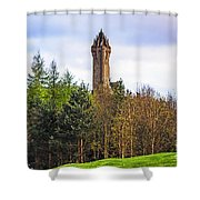 Stirling Spring Shower Curtain