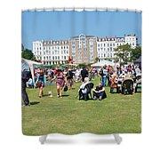 St.leonards Festival England Shower Curtain