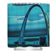St.louis Arch Shower Curtain