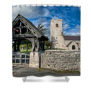 St.marcellas Entrance Shower Curtain